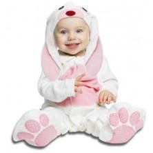 kostým pro miminko Růžový králíček