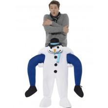 Pánský kostým Sněhulák únosce