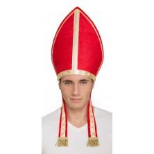 Čepice Papež červená