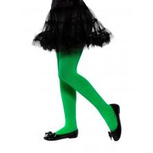 Dětské punčocháče zelené