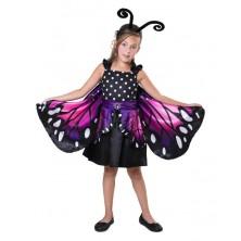 Dívčí kostým Motýlek