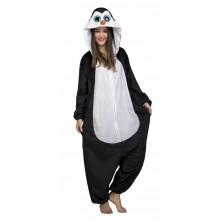 Kostým Okatý tučňák pro dospělé