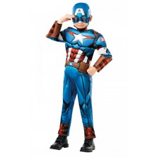 chlapecký kostým Captain America deluxe