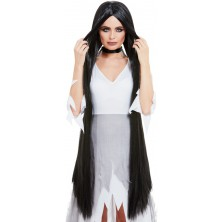 Paruka Halloween černá 120 cm