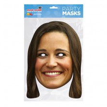 Papírová maska Pippa Middleton I