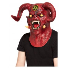 Maska Čert Satan deluxe