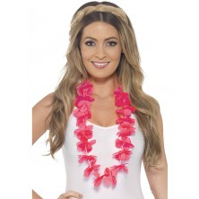 levný havajský věnec růžový