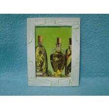 Obrázek obdelník v rámečku Oleje