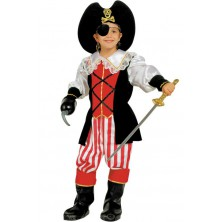 Dětský kostým Pirátka II